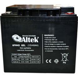 Аккумулятор Altek 6FM45GEL