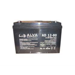 Аккумулятор ALVA battery AD12-80