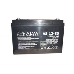 Аккумулятор ALVA battery AS12-80