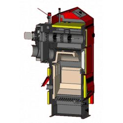 Твердотопливный котел ATMOS D 40 P (с отверстием для пальника)