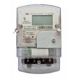 Счетчик однофазный многотарифный НІК2102-01.Е2МСТР1 220В (5-60)А с радиомодулем (ZigBee), с реле упр. нагрузкой
