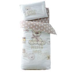 Постельное белье в кроватку Bernard/звезда