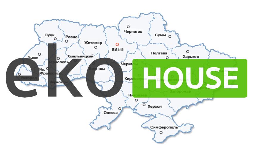 Регионы доставки магазина Eko.House